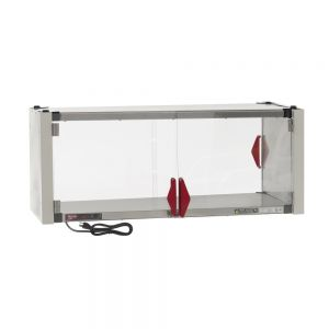 Super Erecta Hot Enclosure Kit with Stainless Steel Heated Shelf, 120V, 400W