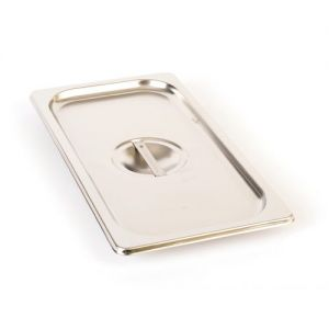 Solid Third Size Steam Pan Cover