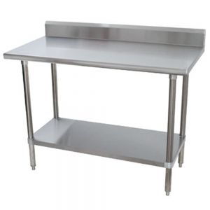 Stainless Steel Worktable, 36X24 Inch