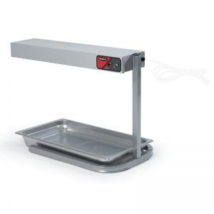 Steel Bar Heater On Base, 24 Inches