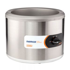 Round Countertop Food Warmer, 7 Qt