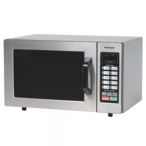 Light Duty Commercial Microwave Oven w/ Painted Steel - 1000 Watts