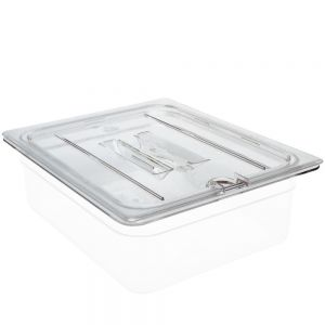 Camwear Half Size Notched Cover with Handle Food Pan Lid