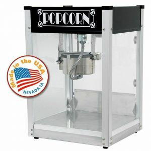 Black Gatsby 4 oz Popcorn Machine