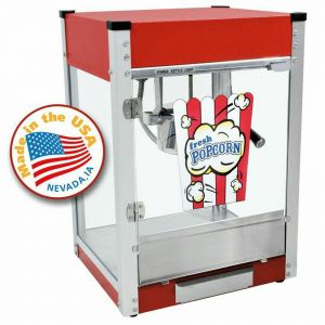 Red Cineplex 4 oz Popcorn Machine