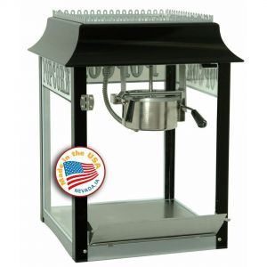 1911 Originals 4 oz Popcorn Machine - Black and Chrome
