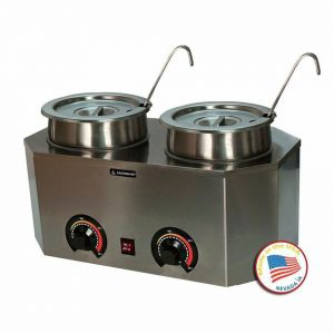 Pro-Deluxe Dual Warmer with Ladles