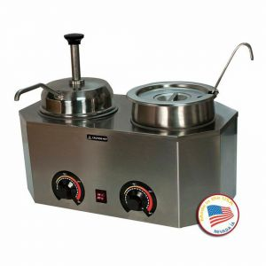 Pro-Deluxe Dual Warmer - Ladle and Pump