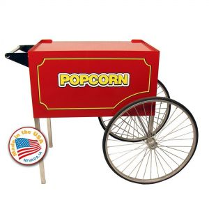 Classic Pop Red Cart for 14 and 16 oz Popcorn Machines