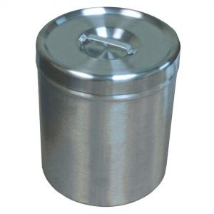 Stainless Steel Insert Jar with Lid