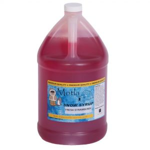 Fresh Strawberry Motla Syrup - 1 Gallon