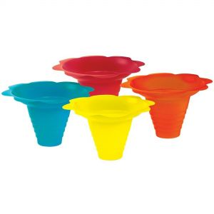 8 oz Flower Drip Tray Cups - Case of 100