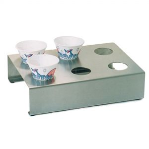 Sno-Cone Holder - Stainless Steel