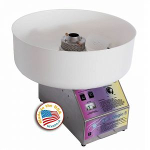 Paragon 7150300 Cotton Candy Machine Spin Magic 5 with Plastic Bowl