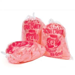Cotton Candy Bags with Imprint - Case of 1000