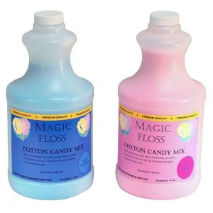 Cotton Candy Floss Mixed Case - (3) Blue Raspberry and (3) Pink Vanilla