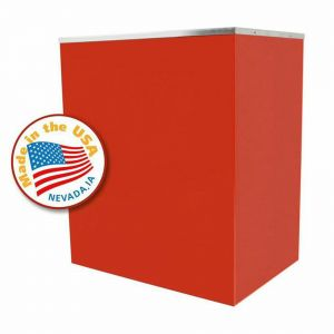 Classic Pop Red Stand for 14 oz Popcorn Machines