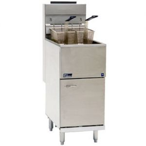 Commercial Fryer 35-40 Lb. Stainless Steel Tank Gas