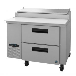 "Hoshizaki PR46A-D2 Steelheart 46"" Pizza Prep Table with Drawers"