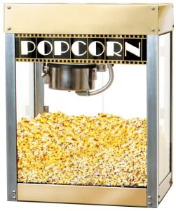 Premiere Hollywood Commercial Popcorn Machine - Sold as Shown