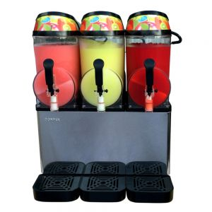 Three Flavor Frozen Beverage Machine - Three 3.2 Gallon Bowls