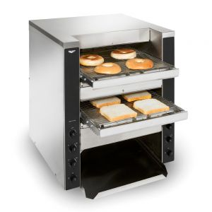 Triple Play Double Entry Conveyor Toaster - 1,100 Slices/Hour, 240 Volt