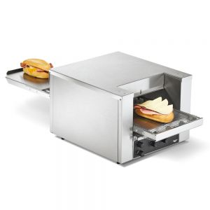 "Countertop Conveyor Sandwich and Pizza Toast / Bake Oven - 10-1/2"" Wide Conveyor (120 Volts)"