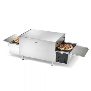 Maestro Countertop Conveyor Pizza Oven - 14&quot' Wide Right to Left Conveyor, 220 Volt