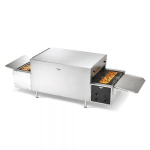 Maestro Countertop Conveyor Pizza Oven - 18&quot' Wide Right to Left Conveyor, 240 Volt