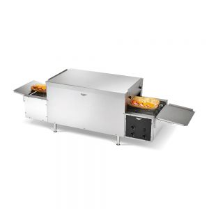 Maestro Countertop Conveyor Sandwich Oven - Left to Right, 220