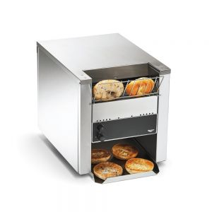 Conveyor Bagel Toaster - 1,200 Bagel Halves/Hour, 240 Volt
