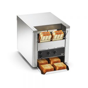"Bread & Bun Conveyor Toaster - 1 1/2"" to 3"" Clearance, 500 Slices/Hour (220 Volts)"