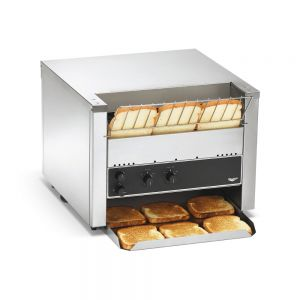 "Bread & Bun Conveyor Toaster - 1 1/2"" Clearance, 1,000 Slices/Hour, 240 Volts"