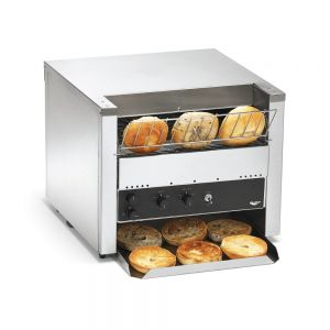 "Bread & Bun Conveyor Toaster w/ Bun Mode - 3"" Clearance, 1,400 Slices/Hour, 240 Volts"