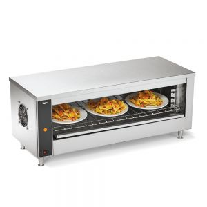 "Cheese Melter and Broiler Oven w/ Plate Activation - 3 (10"") Plates, 240 Volt"