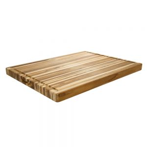 Rectangle Carving Board With Hand Grip and Juice Canal