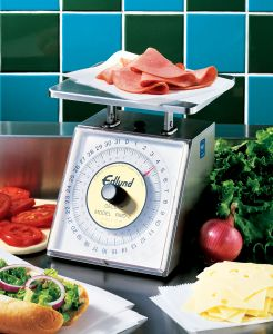 1000 g Four Star Series Deluxe Portion Scale W/ Rotating Dial