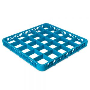 25 Compartment Extender for Dish Rack Blue