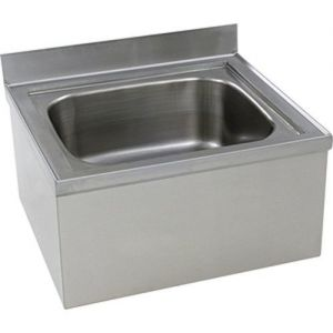 Floor Mop Sink, 16 x 20 x 6 Inches, NSF