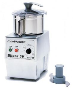 Blixer5V 5.5 Qt. Commercial Countertop Blender/Mixer - 3 HP, Variable Speed