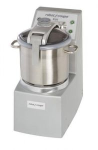 20 Qt. Vertical Cutter/Mixer Food Processor With Stainless Steel Bowl - 5.5 HP, Two Speed