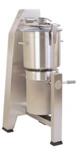 24 Qt. Vertical Cutter/Mixer Food Processor With Stainless Steel Tilting Bowl - 6 HP, Two Speed