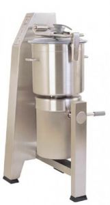 45 Qt. Vertical Cutter/Mixer Food Processor With Stainless Steel Tilting Bowl - 13.5 HP, Two Speed