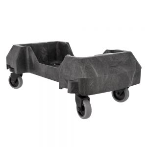 Slim Jim Trolley for Containers, Black
