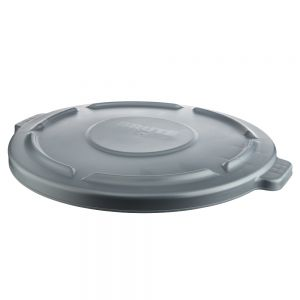Lid for 55 Gallon Brute Container, Gray