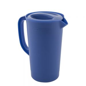 Rubbermaid FG3062PRPERI 2-1/4 Quart Periwinkle Pitcher