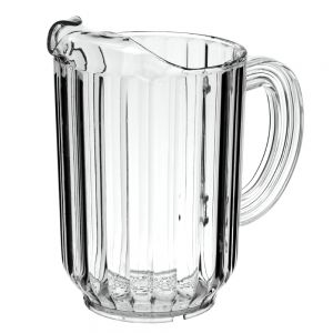 Pitcher, 60 oz. Plastic Pitcher, Bouncer, Clear