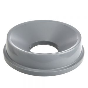 Round Funnel Top for 3546 Container, Light Gray