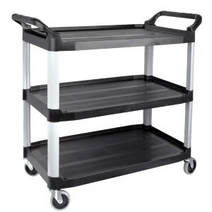 Utility Cart 300 Lb. Capacity, Black