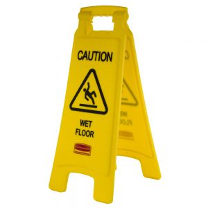 Caution Wet Floor Sign, Yellow